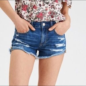 American Eagle Tomgirl High Rise Shortie
